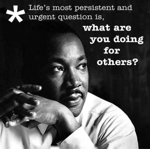 martin-luther-king-jr-day- doing for others